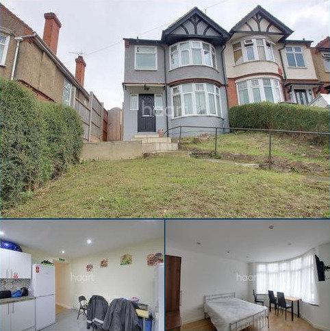 6 bedroom semi-detached house for sale - Farley Hill