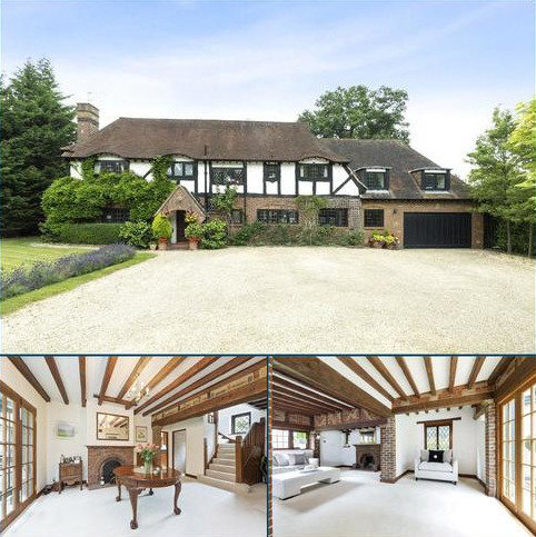 5 bedroom detached house for sale - Lynx Hill, East Horsley, Surrey, KT24