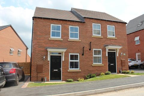 2 bedroom semi-detached house to rent - Moonbeam Close, Berry Hill