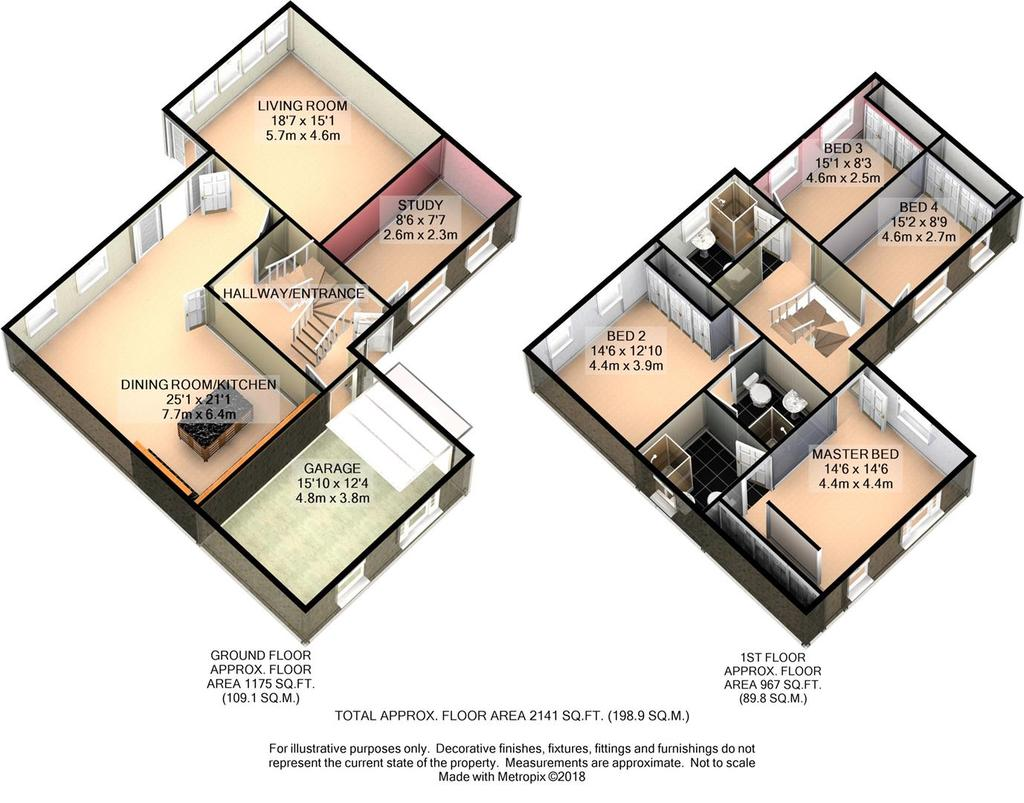 Floorplan 2 of 4: Plot 7 3 D Floor Plan