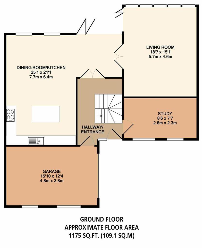 Floorplan 3 of 4: Plot 7 Ground Floor