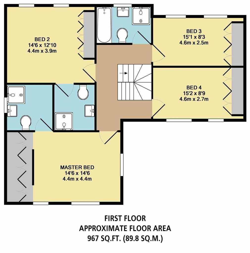 Floorplan 4 of 4: Plot 7 First Floor