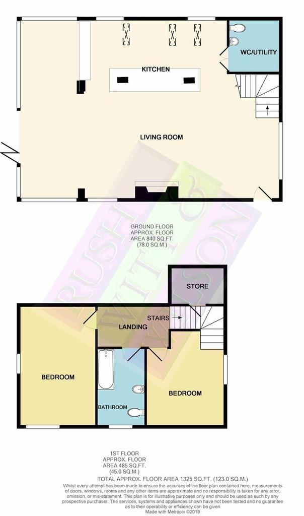 Floorplan 1 of 2: Heronden Granary Rye Rd Sandhurst TN185 PHmono print (1)
