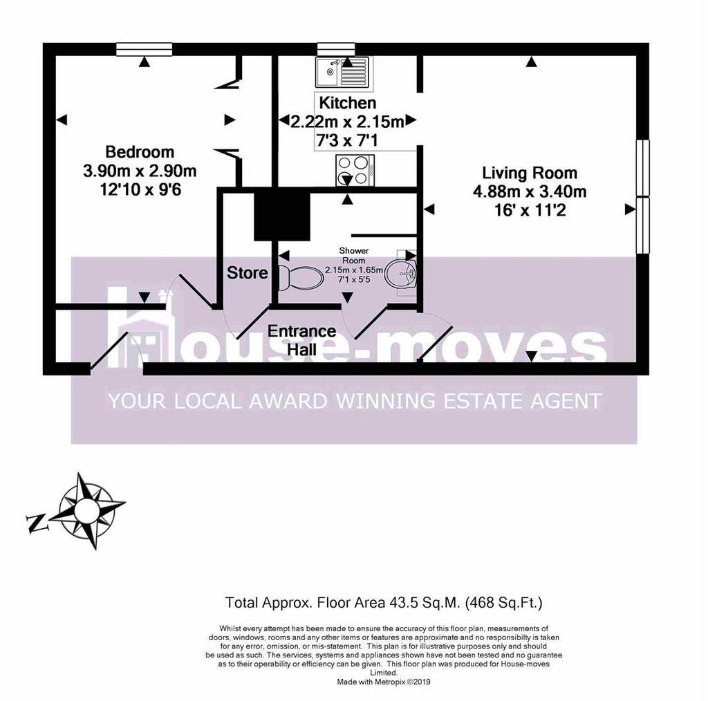 Floorplan: Homespring House Floor Plan