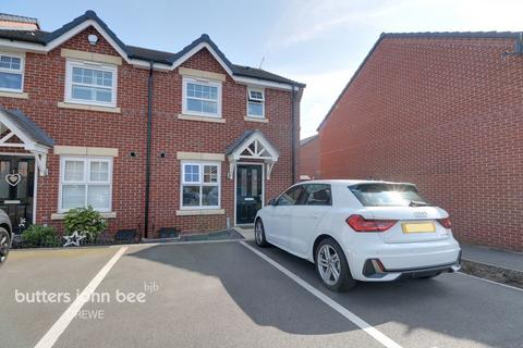 3 bedroom end of terrace house for sale - Apple Drive, Crewe