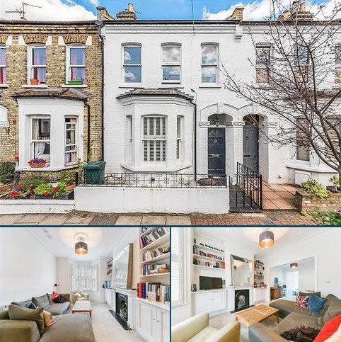 5 bedroom house to rent - Balfern Street, London, SW11