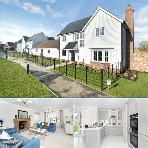 4 bedroom link detached house for sale - Poppy Walk, Marden, Tonbridge, Kent, TN12
