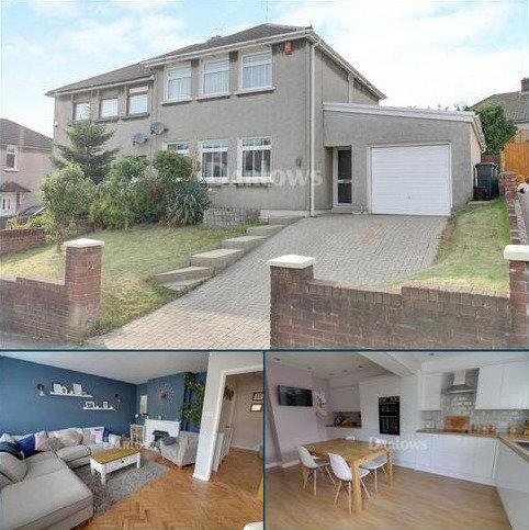3 bedroom semi-detached house for sale - Johnston Road, Llanishen, Cardiff, CF14