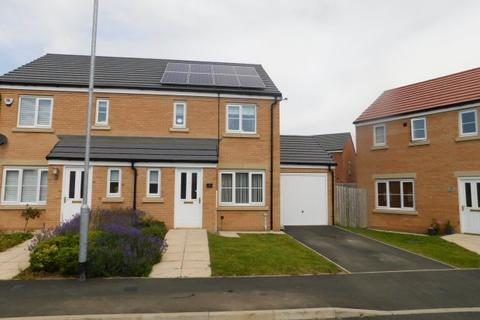 3 bedroom semi-detached house for sale - ADAMS COURT, SHILDON, BISHOP AUCKLAND