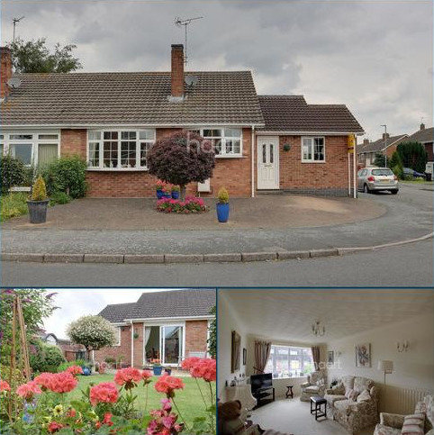 2 bedroom bungalow for sale - Wide Street, Hathern
