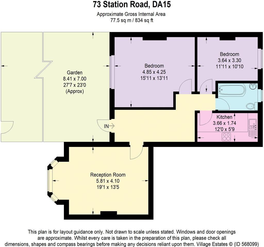 Floorplan: Downley Court...