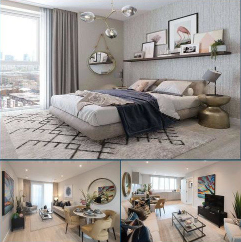 1 bedroom flat for sale - Lime Quarter, 75 Devons Road, Bromley-By-Bow, London, E3