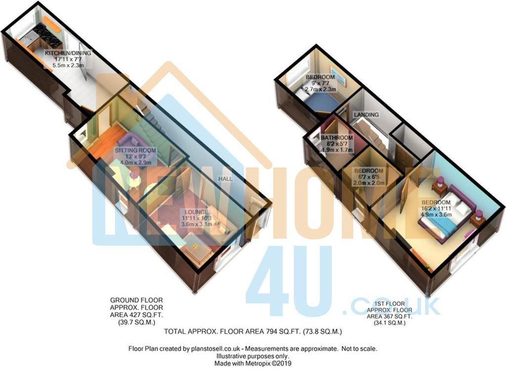 Floorplan 1 of 2: 1 Leasowe Terrace FP 1.jpg