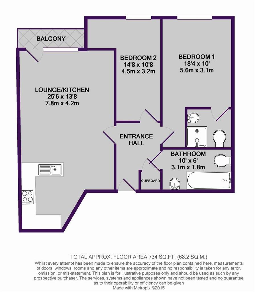 Floorplan: 76 City South, M15 4 QD   floor plan.JPG