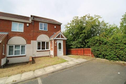 2 bedroom end of terrace house for sale - Redewood Close, Redewood Park, Slatyford, Newcastle Upon Tyne