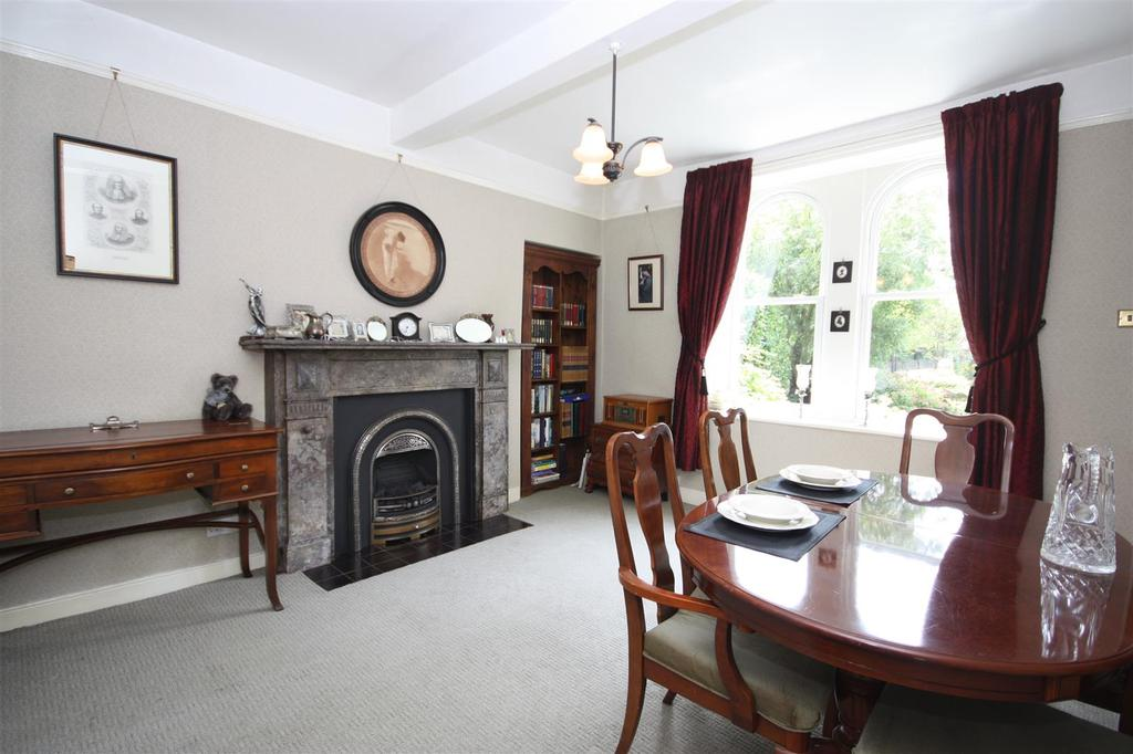 Large family dining room