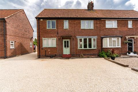 3 bedroom semi-detached house for sale - Back Lane, North Duffield, Selby, YO8