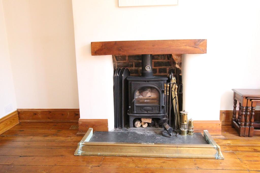 Fireplace and Log Burner in Sitting Room