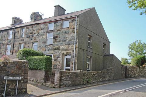 2 bedroom end of terrace house for sale - Bryn Sisillt, Llanllyfni, North Wales