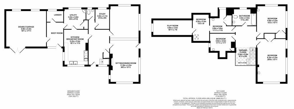 Floorplan 2 of 2: Whitehall Farmhouse Floor Plans