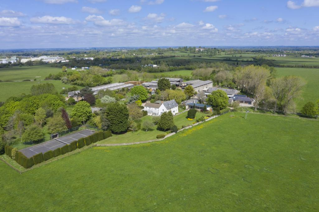 Aerial of Farmstead