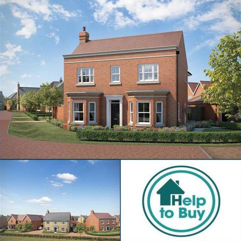 4 bedroom detached house for sale - Plot 103, Bromley Road, Lawford