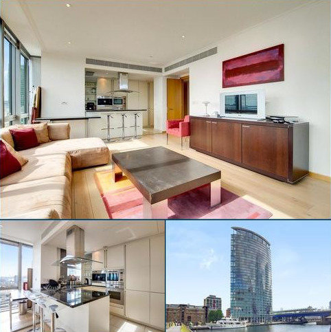 2 bedroom flat for sale - West India Quay, 26 Hertsmere Road, London, E14