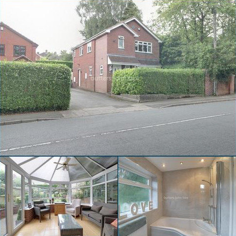 3 bedroom detached house for sale - Queens Road, Penkhull, ST4 7LF