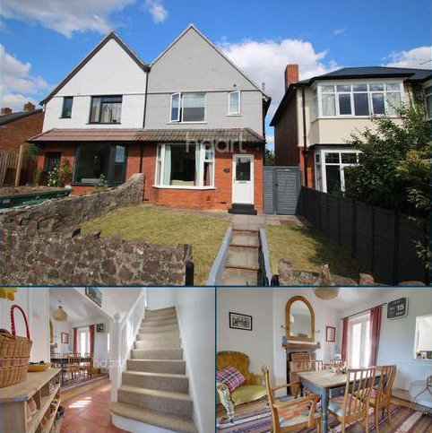 3 bedroom semi-detached house for sale - Cheddon Road, Taunton