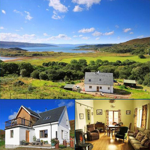 3 bedroom detached house for sale - Old Glenbeg, Glenborrodale, Ardnamurchan, PH36