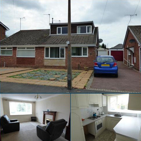 3 bedroom semi-detached bungalow for sale - Gretton Avenue, Stretton