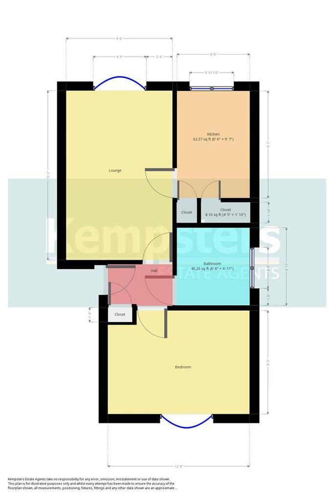 Floorplan: 1st Floor