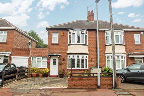 2 bedroom semi-detached house for sale - Richmond Avenue, Bill Quay, Gateshead, Tyne and Wear, NE10 0TA