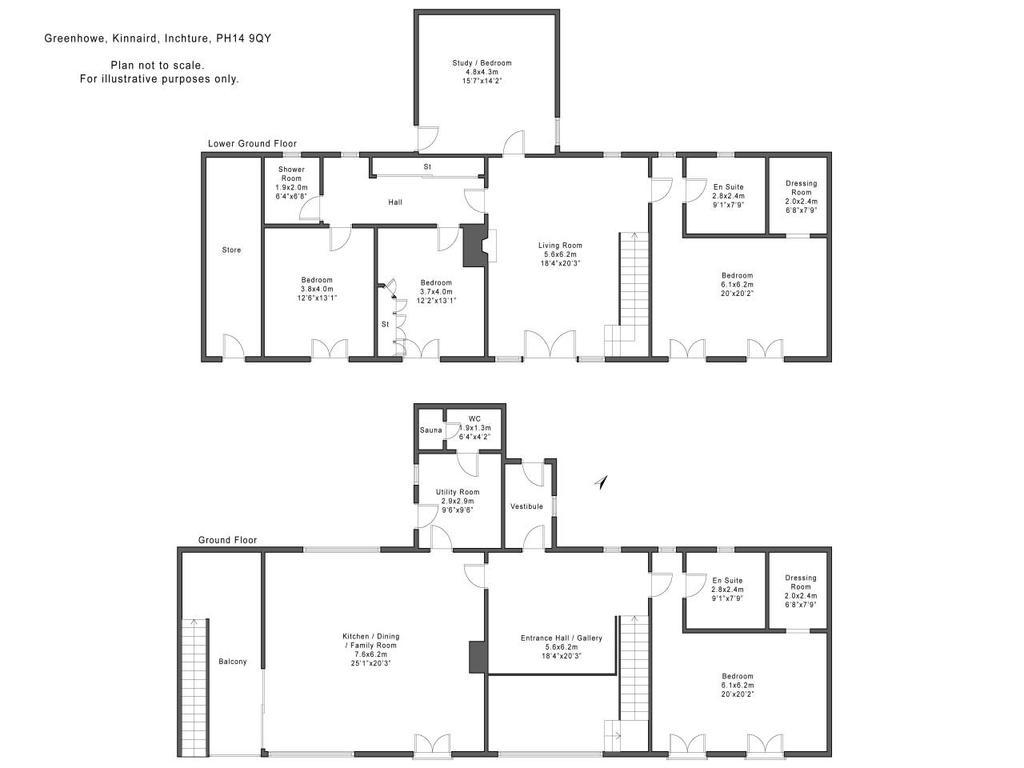 Floorplan: Floorplan   Greenhowe Kinnaird Inchture PH149 QY