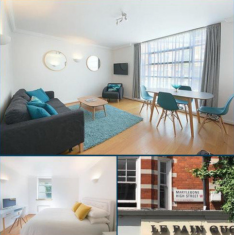 1 bedroom flat to rent - marylebone high street, london W1U