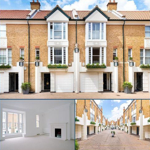 4 bedroom terraced house to rent - Charles II Place, 77 Kings Road, Chelsea, London, SW3