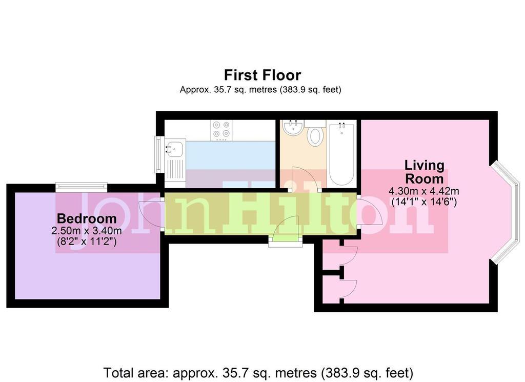 Floorplan: Flat 3, 24 College Road.jpg