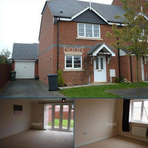 3 bedroom end of terrace house to rent - GRANGE PARK