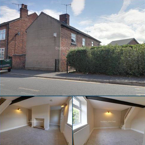 2 bedroom end of terrace house for sale - Broad Street, Crewe
