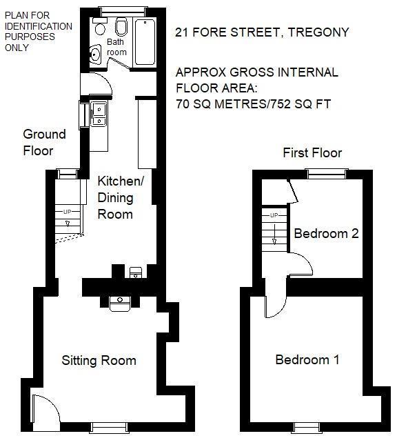 Floorplan: 21 Fore Street Tregony.jpg