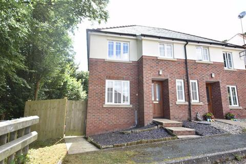 3 bedroom semi-detached house for sale - 37, Woodland Way, Llanllwchaiarn, Newtown, Powys, SY16