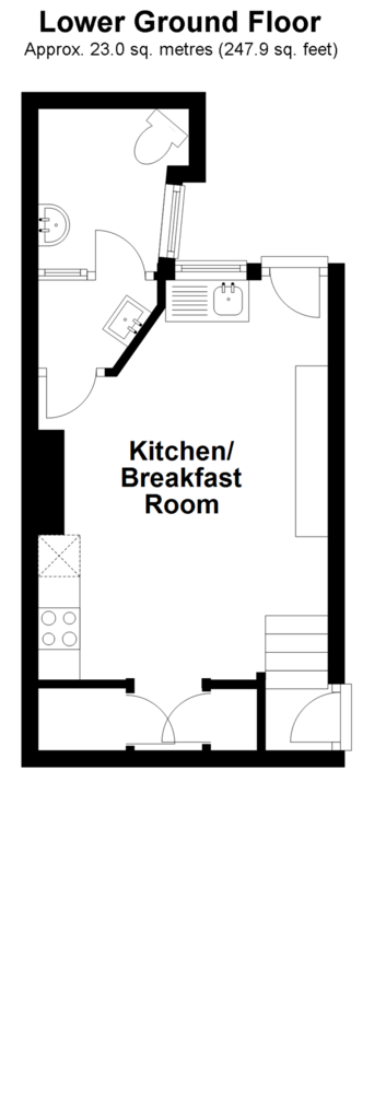 Floorplan 1 of 3: Lower Ground Floor