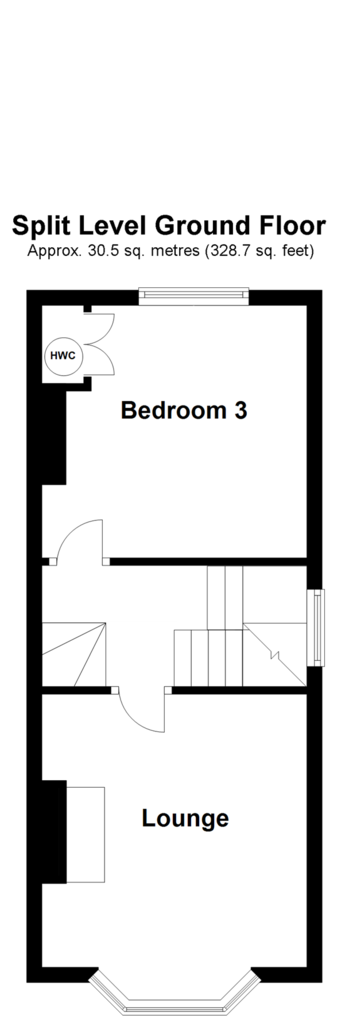 Floorplan 2 of 3: Split Level Ground Floor