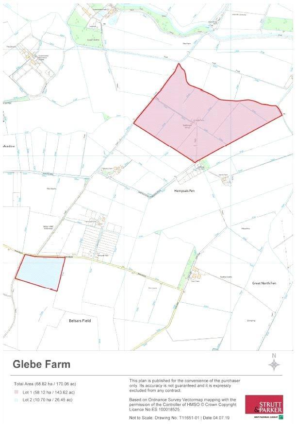 Glebe Farm Plan