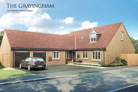 4 bedroom detached bungalow for sale - Plot 35 The Grayingham, Pinchbeck