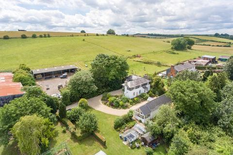 4 bedroom farm house for sale - Wylye. Superb small farm on the edge of the rolling chalk downs. 40 acres; house, annexe, buildings