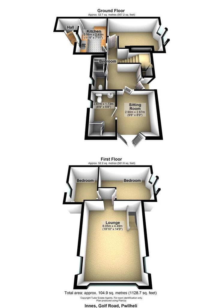 Floorplan 1 of 2: Innes, Golf Road, Pwllheli.jpg