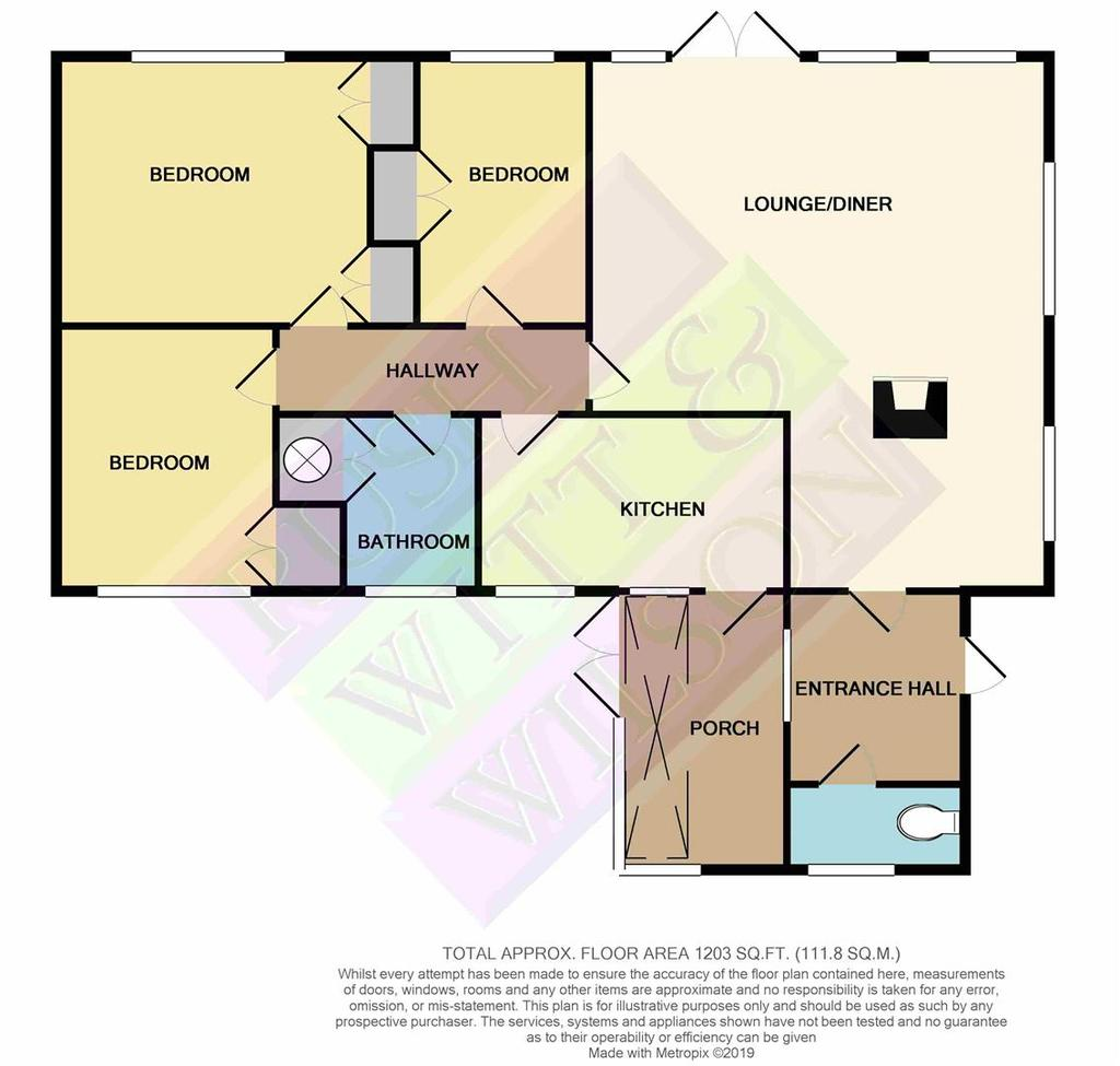 Floorplan 1 of 2: Castlings Rye Road Newenden CRANBROOKKent TN185 PLmono p
