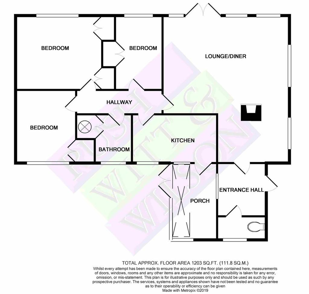 Floorplan 2 of 2: Castlings Rye Road Newenden CRANBROOKKent TN185 PLmono p
