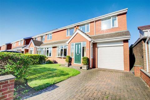 4 bedroom semi-detached house for sale - Leicester Close, Hadrian Lodge West, Wallsend, NE28
